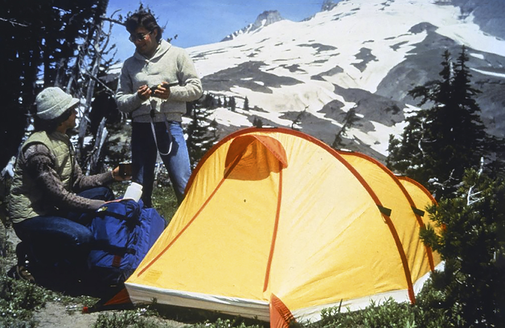 Gore-tex namiot