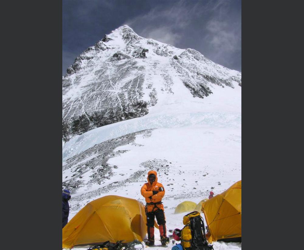 Wyprawa na Mount Everest - obóz IV - Tomasz Kobielski