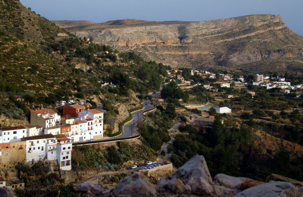 Chulilla - panorama