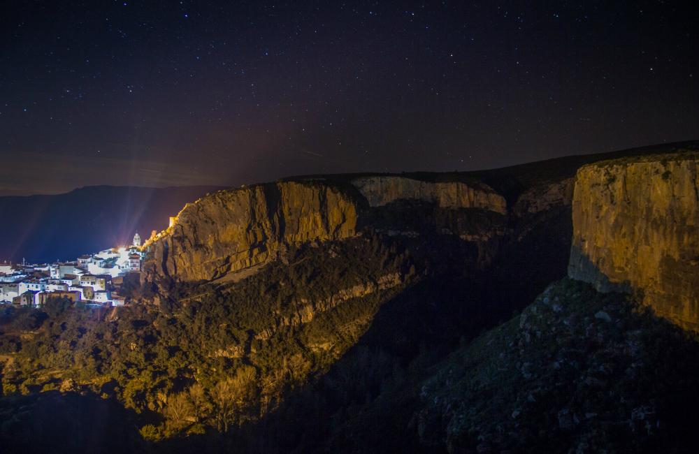 Chulilla nocą (fot. Magda Nowak)