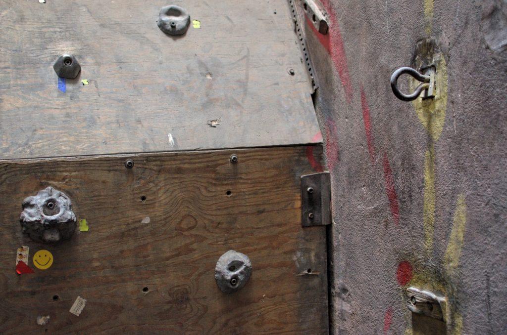 ścianka wspinaczkowa Gliwice - szyb