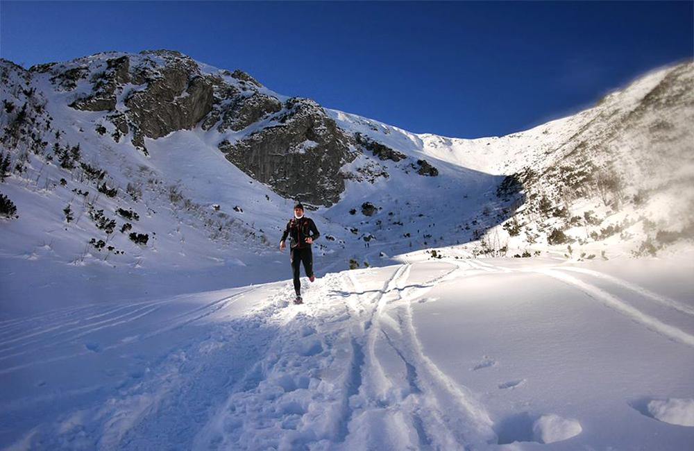 Bieganie w Tatrach zimą