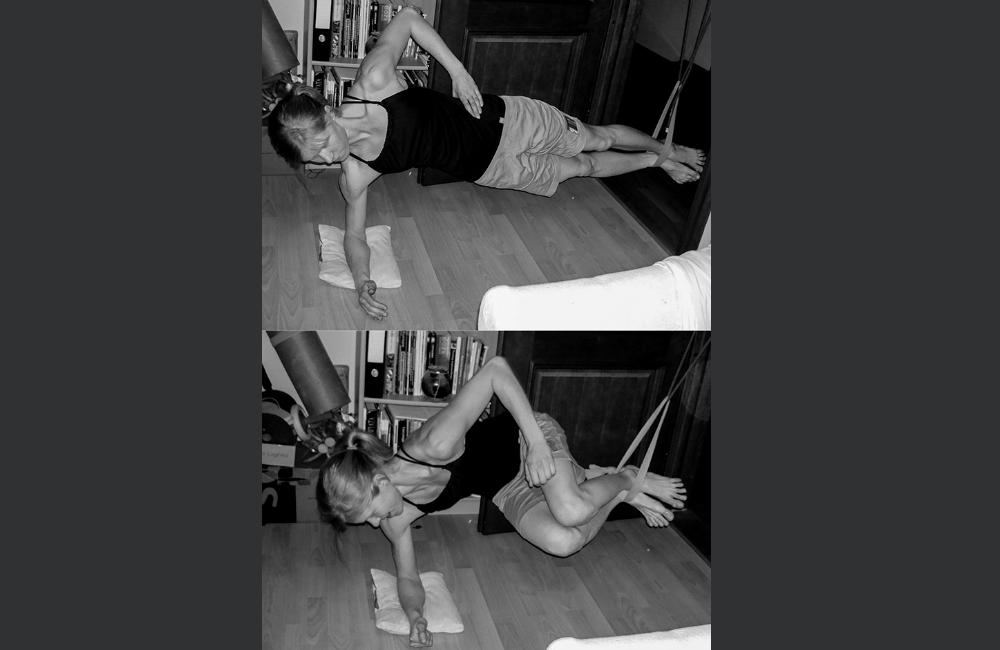 ćwiczenia dla wspinacza w domu