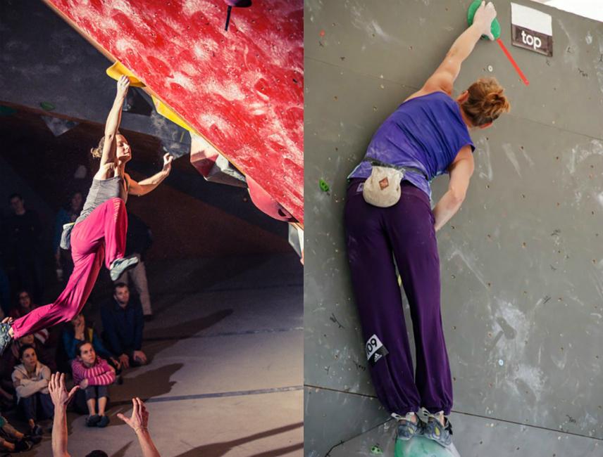 trening wspinaczkowy na ściance