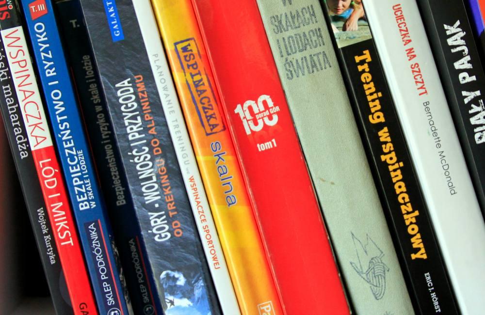 książki o wspinaczce