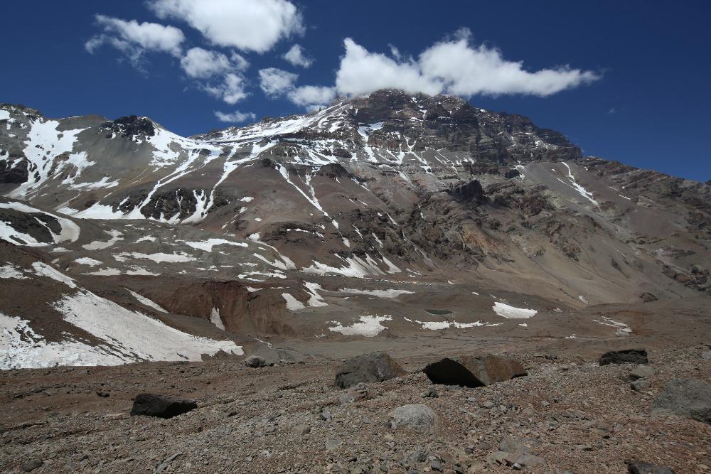 najwyższy szczyt Andów