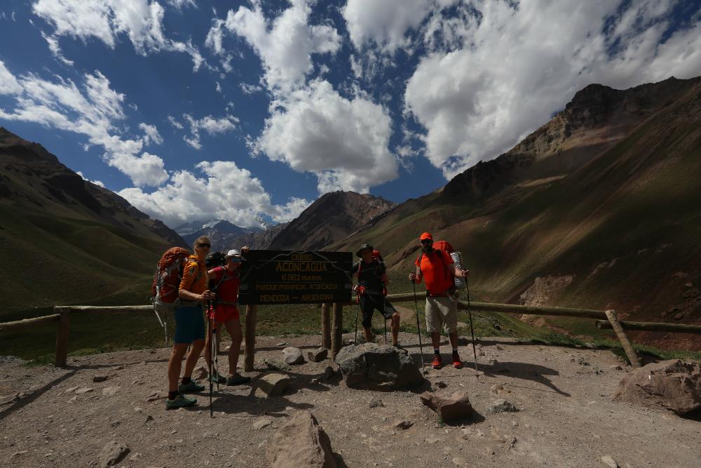 Aconcagua - początek wyprawy