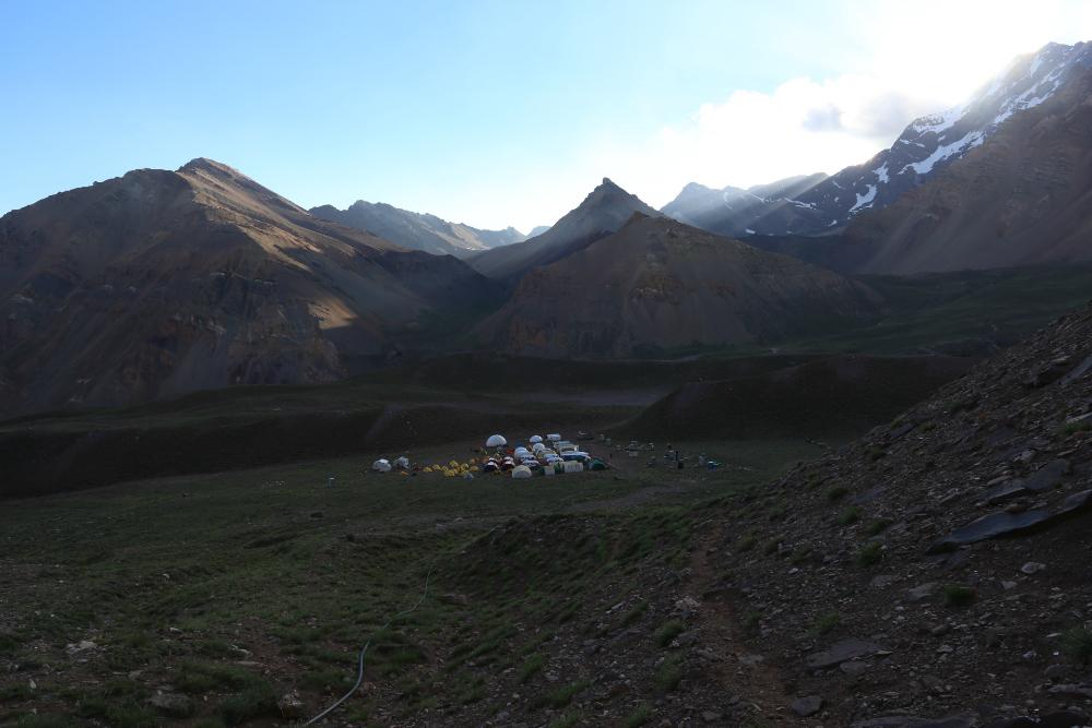 Aconcagua - Obóz Confluencja