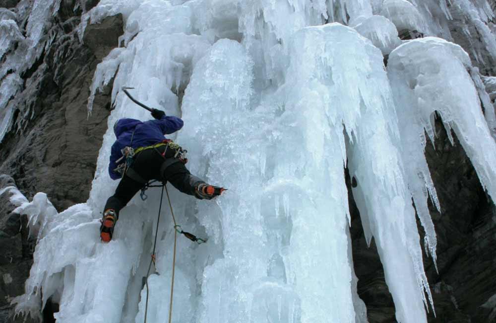jak się wspinać w lodzie?