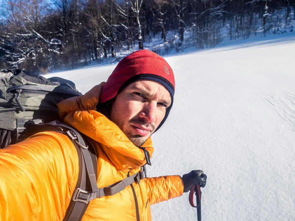 o zimowym trekingu na Ukrainie