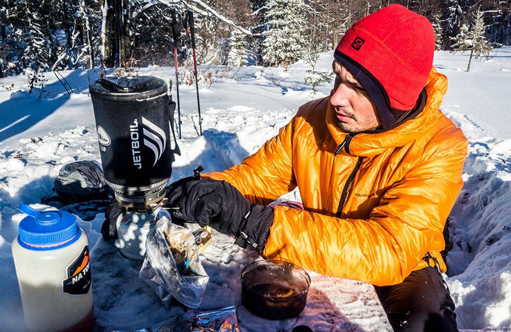 Ukraińskie góry zimą