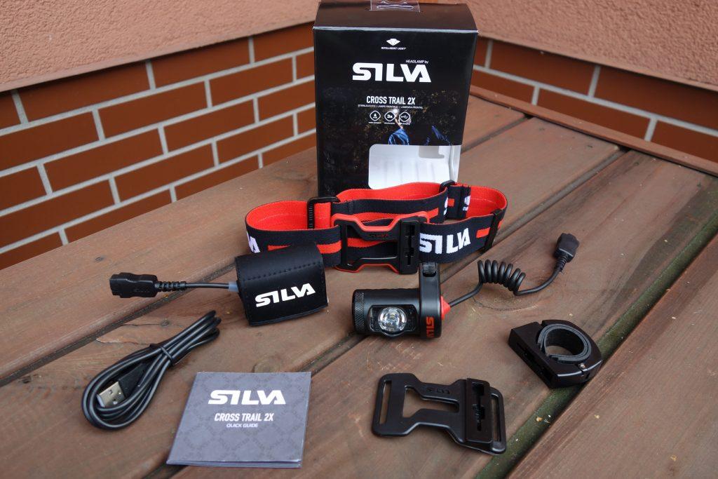 Czołówka Silva Exceed XT –zawartość pudełka