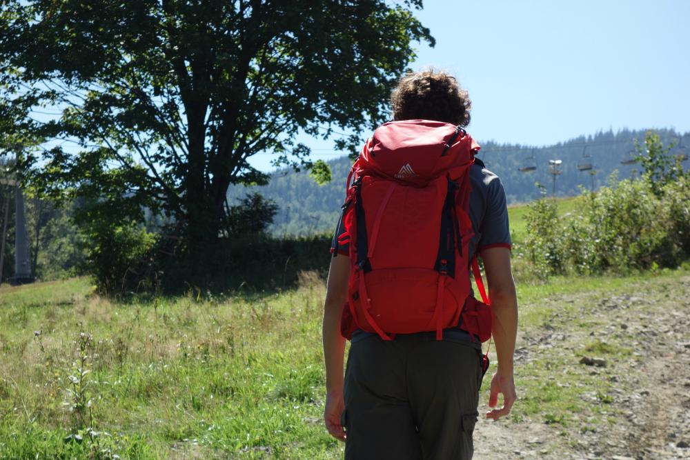 Wygodny plecak w góry