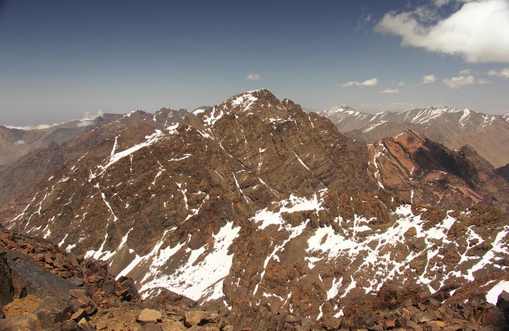 szczyt Toubkal jak wejść