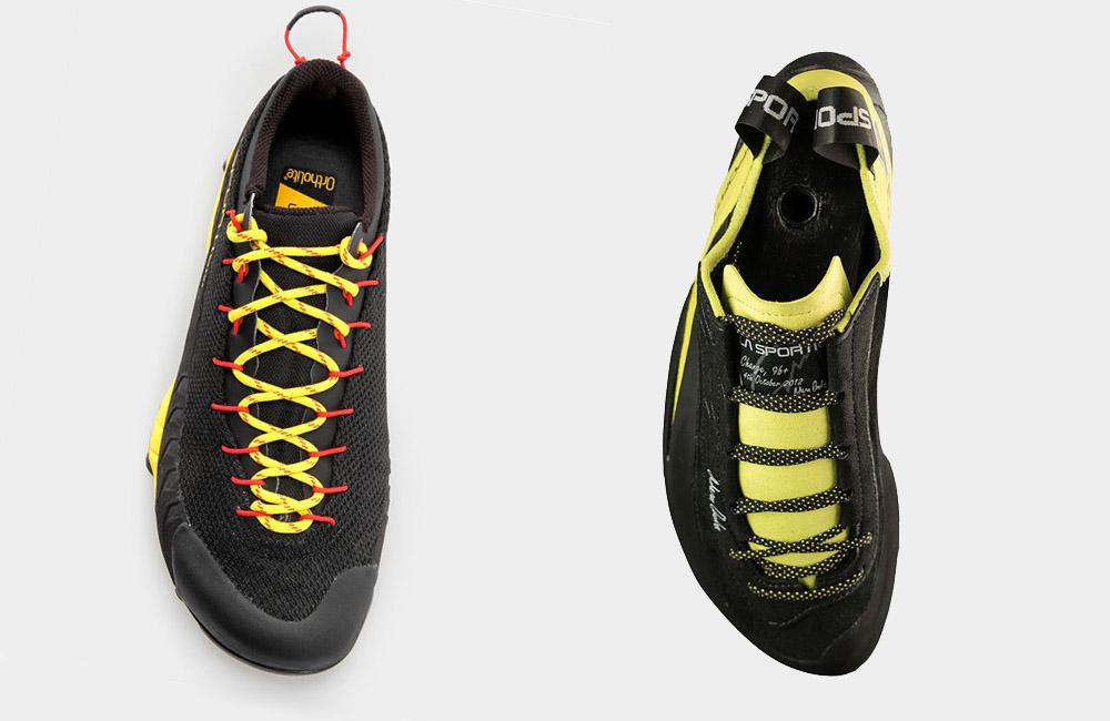 buty podejściowe a wspinaczkowe