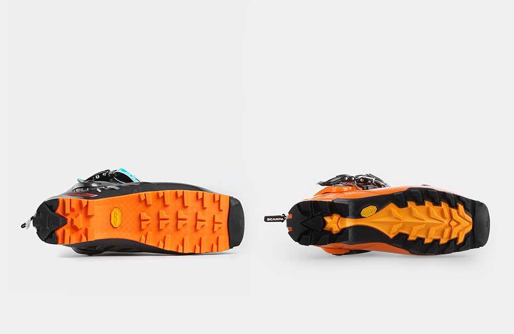 Podeszwy butów skiturowych