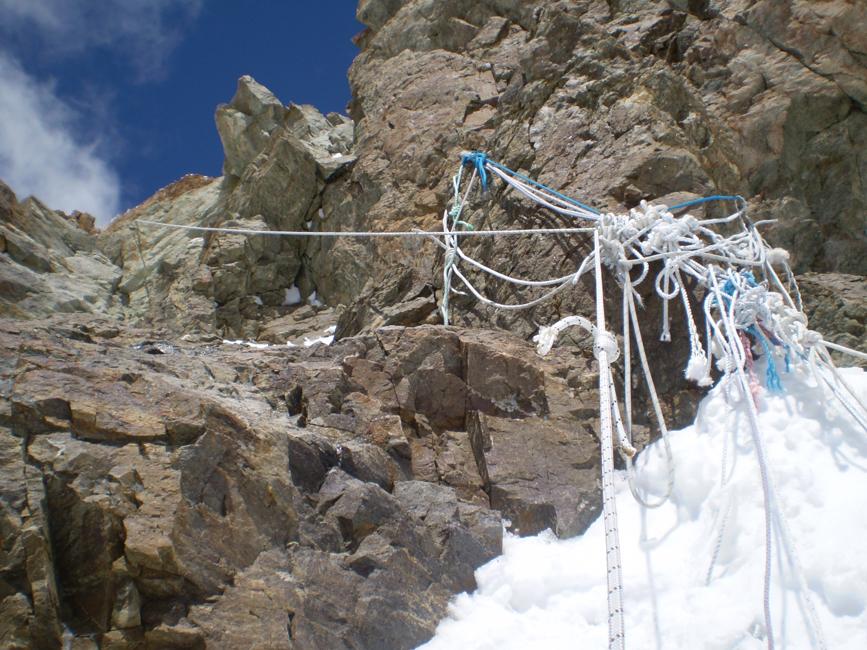 śmieci w górach wysokich