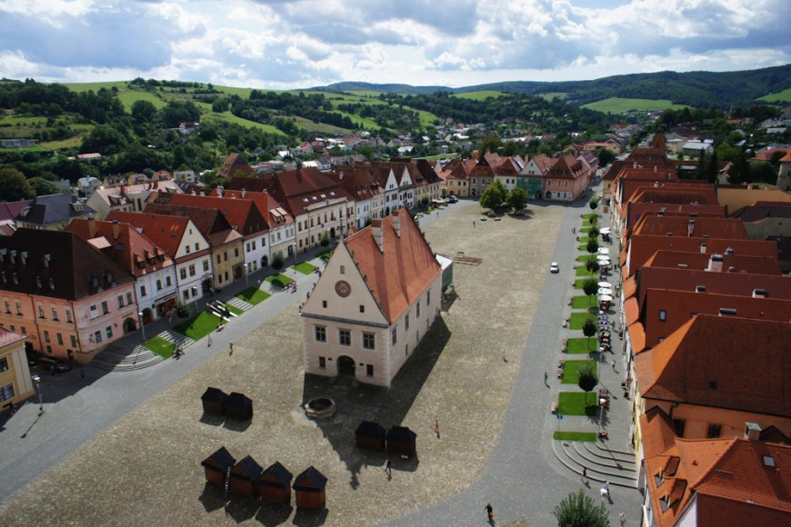 Atrakcje Słowacji - Średniowieczny rynek w Bardejowie
