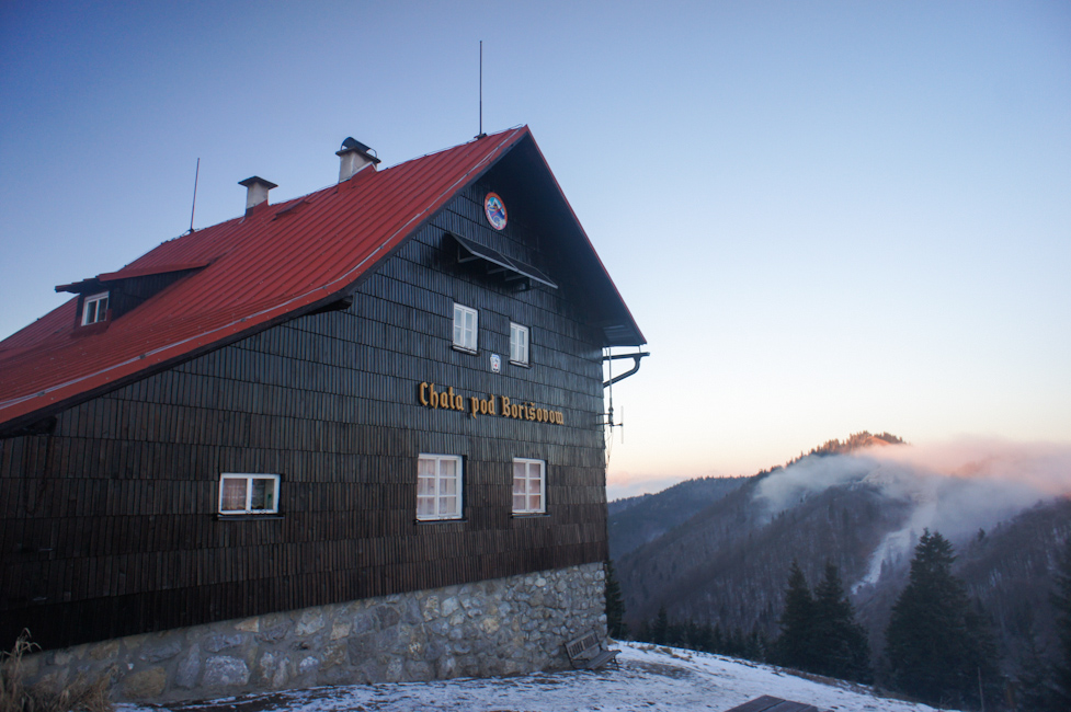 Schroniska na Słowacji - Chata pod Borisovem