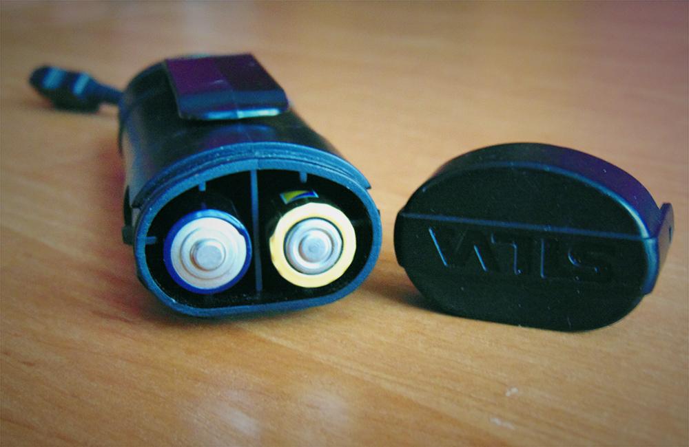 czołówka na baterie AA