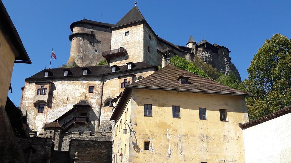 Zamki na Słowacji - Oravski Hrad