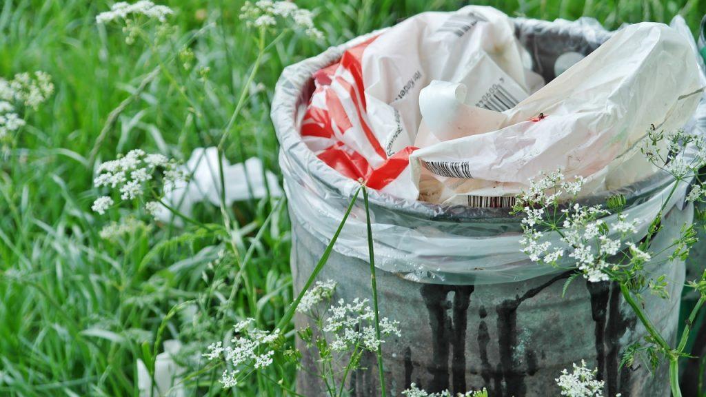 Nie ma kosza? Zabierz śmieci ze sobą, w górach jesteś tylko gościem! (fot. Pixabay, RitaE, CC0 Public Domain)
