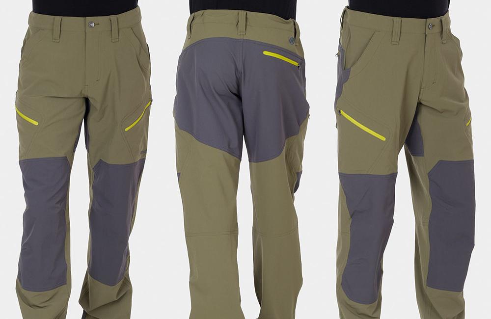 mocne spodnie górskie