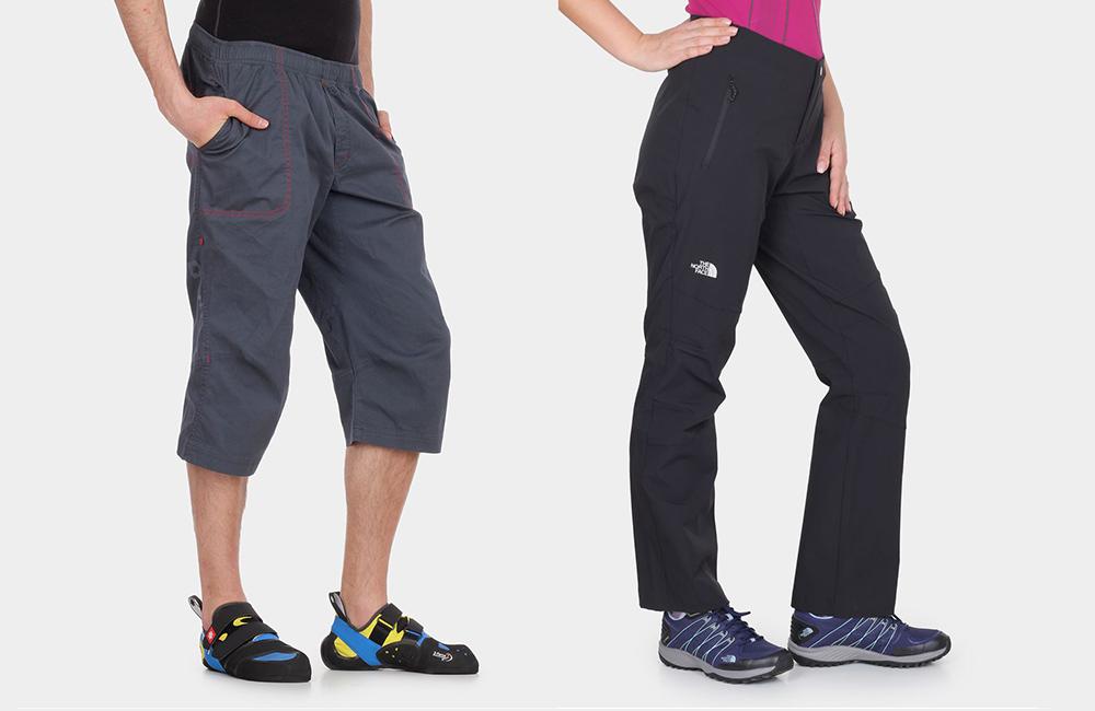 spodnie wspinaczkowe na lato