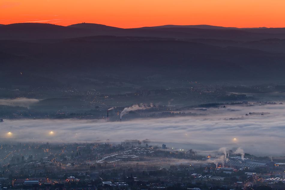 Góry północnych Czech