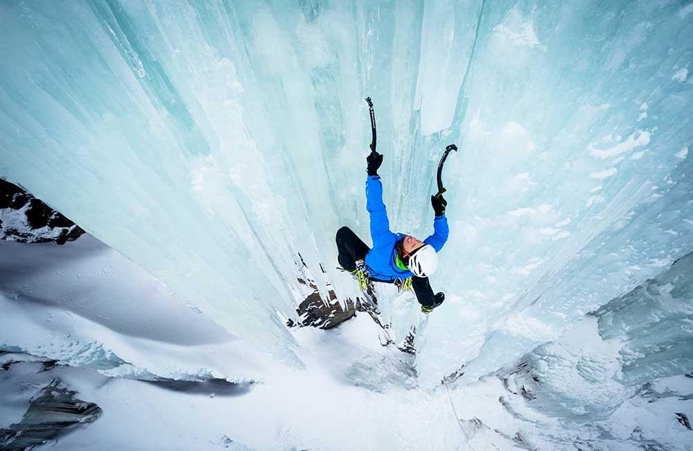 Kask do wspinaczki lodowej