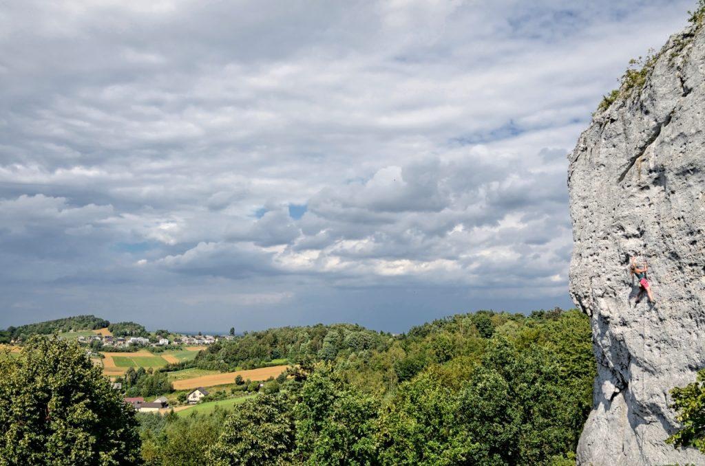 Częstochowa - gdzie się wspinać na Zegarowej