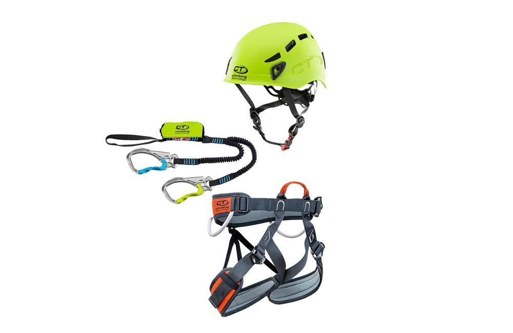 zestaw via ferratom: Climbing Technology Kit Ferrata Premium Eclipse