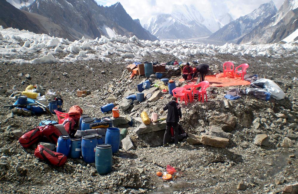 obóz pod K2