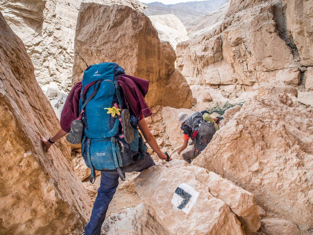plecak na szlaki długodystansowe