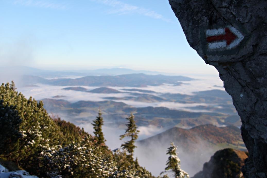 Szlaki w Górach Choczańskich