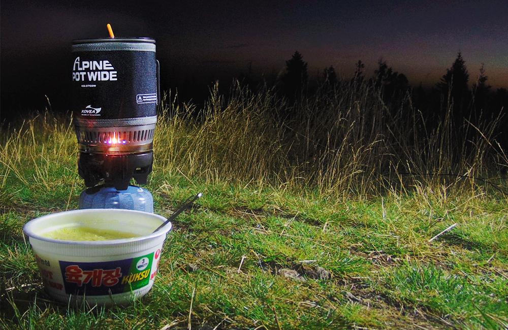 Kuchenka Kovea Alpine Pot Wide - test