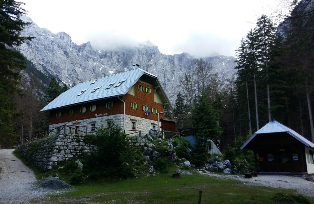 Słowenia schroniska
