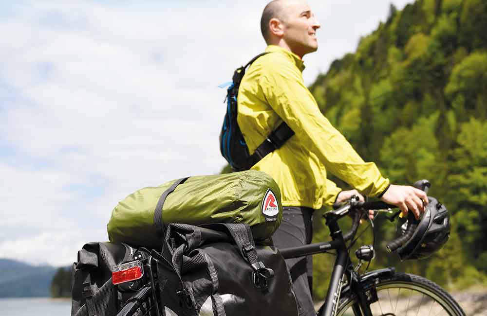 Namiot na rower