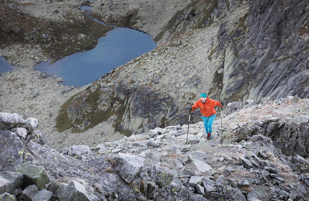 Janusz Gołąb w Tatrach