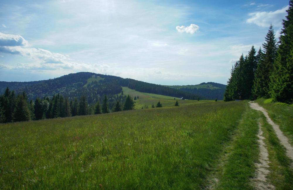 gorczańskie szlaki