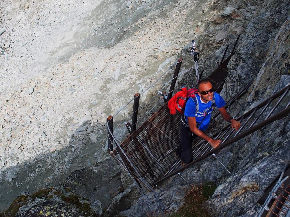 Szlaki długodystansowe w Alpach