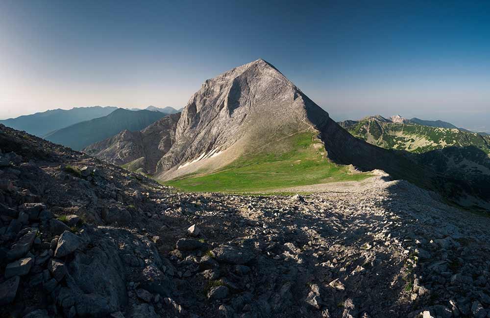 Vihren w górach Piryn