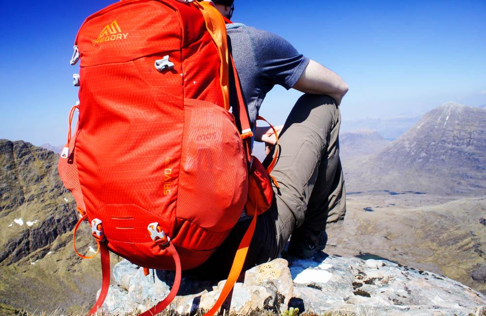 Gregory Salvo 24 na szczycie góry
