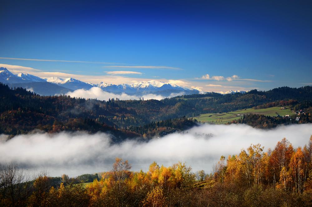 Jesienne barwy w górach