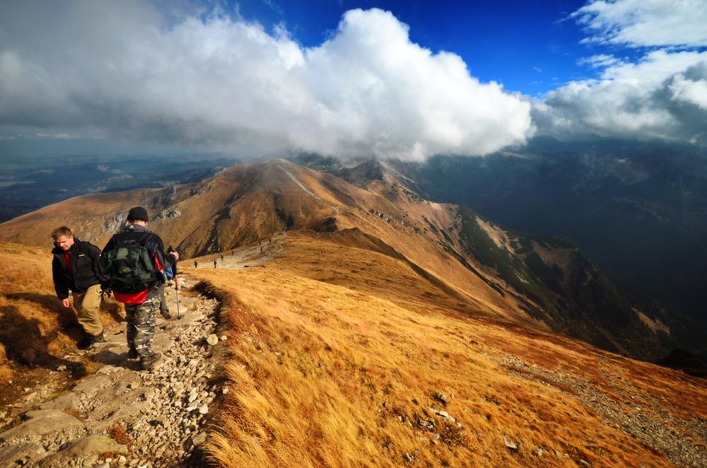 Jesień na szlaku - w Tatrach spotkamy zdecydowanie mniej turystów