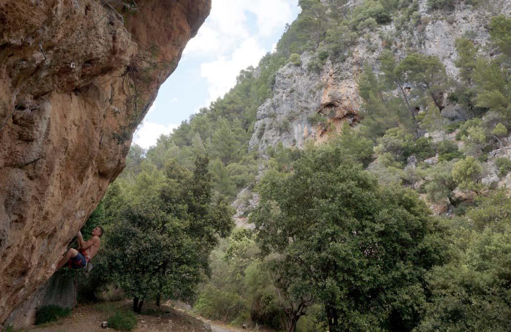 Wspinanie na Majorce (fot. archiwum autorki)