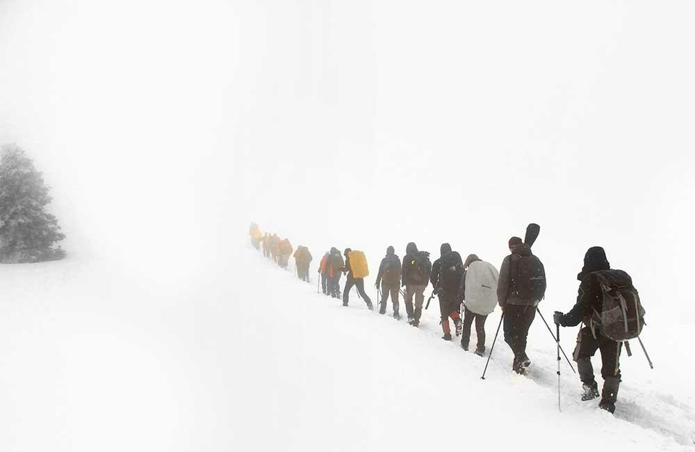 przewodnicy w górach