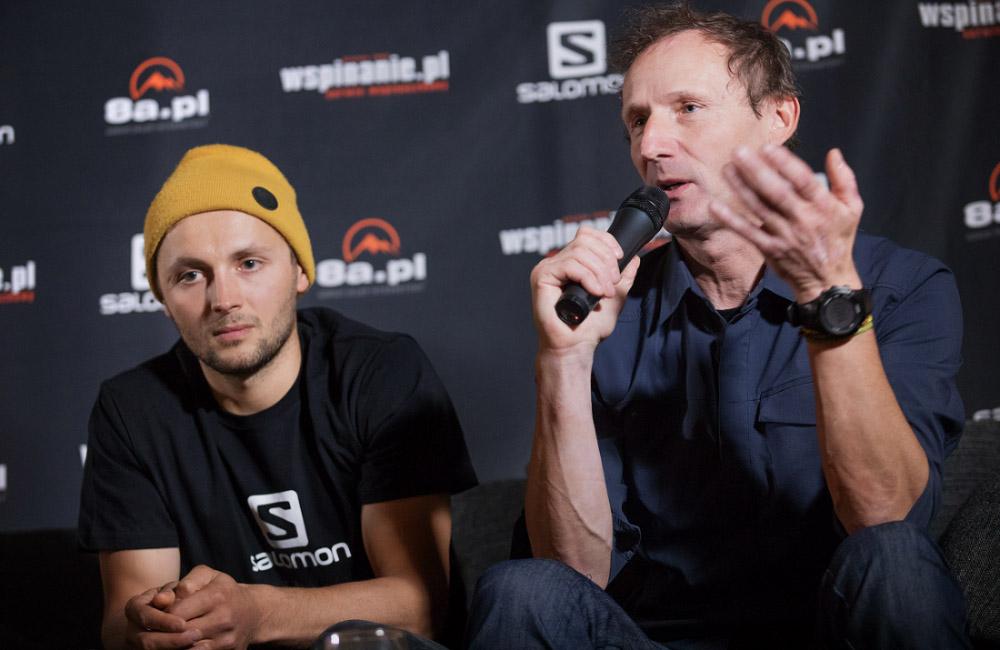 Janusza Gołąb i Andrzej Bargiel