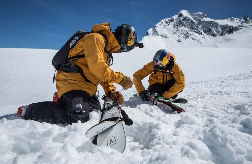 Spodnie dla narciarzy z membraną od TNF