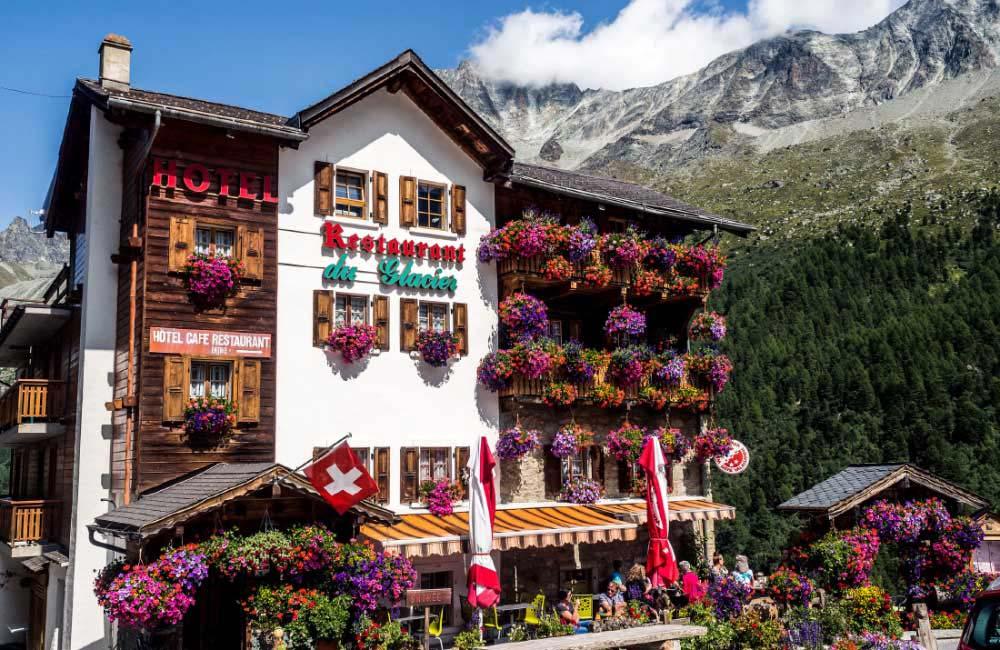 Gdzie się zatrzymać w Alpach